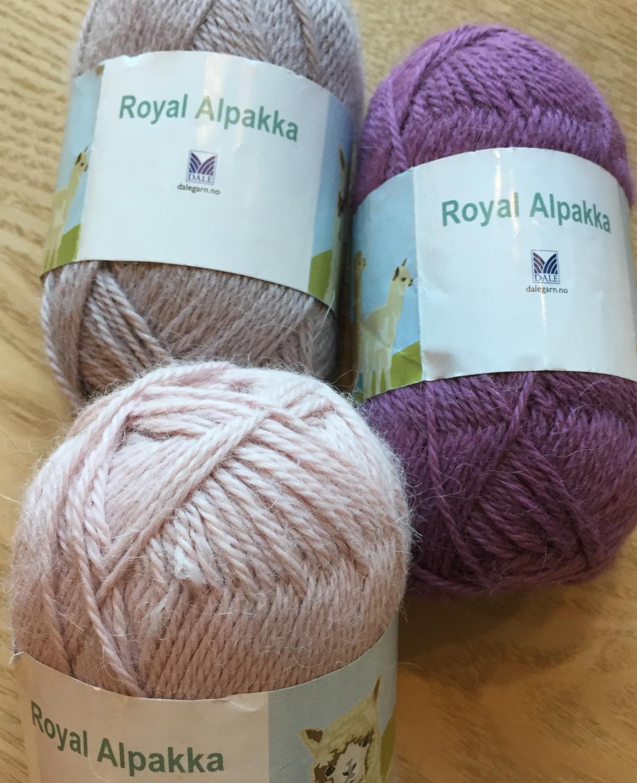 Royal Alpakka - Strikkefeen